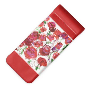 Rosey Vision Glasses Case - White - MASH Gallery