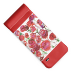 Load image into Gallery viewer, Rosey Vision Glasses Case - White - MASH Gallery