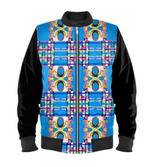 Load image into Gallery viewer, Gender-Fluid Kaleidoscope Bomber Jacket - MASH Gallery
