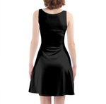 Load image into Gallery viewer, In Your Face Skater Dress