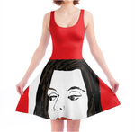 Load image into Gallery viewer, Hot Lips Skater Dress