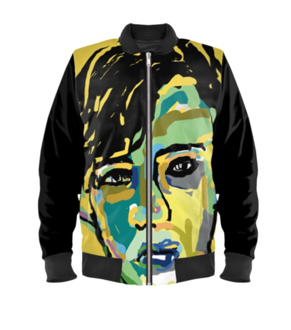 Mr. Hyde Unisex Bomber Jacket - MASH Gallery