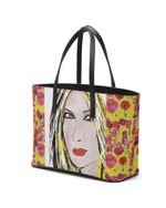 Load image into Gallery viewer, Yellow Mash Blondie Leather Tote Bag - MASH Gallery