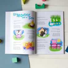 Load image into Gallery viewer, Personalised Nursery Rhyme Collection Book