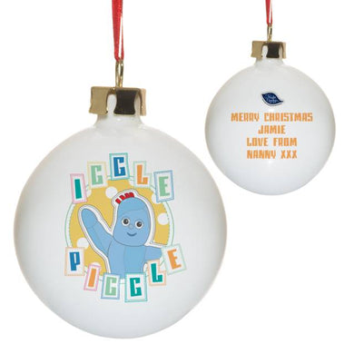 In The Night Garden Pastel Iggle Piggle Bauble