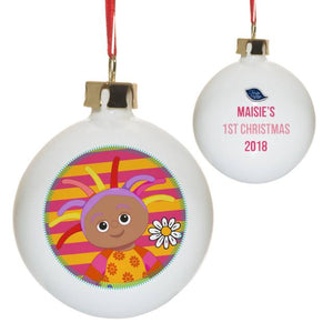 In The Night Garden Upsy Daisy Bauble 1st Christmas Bauble