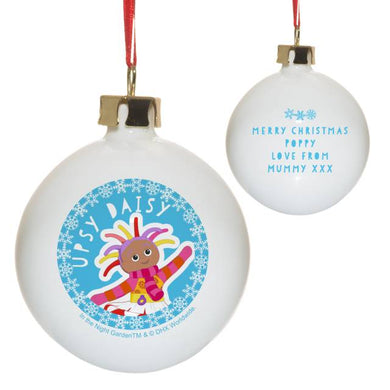 In the Night Garden Upsy Daisy Snowtime Christmas Bauble