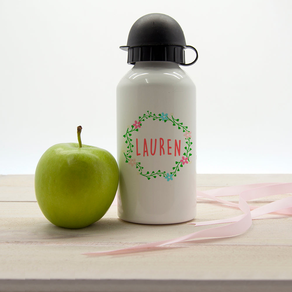 Kids Wreath Festival Water Bottle