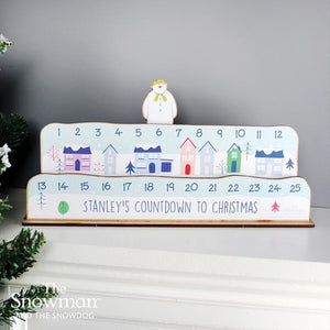 Make Your Own The Snowman Christmas Advent Countdown Kit