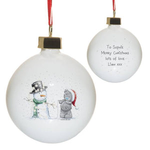 Me To You Tatty & Snowman Bauble