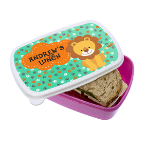 My Little Lion Lunch Box Pink