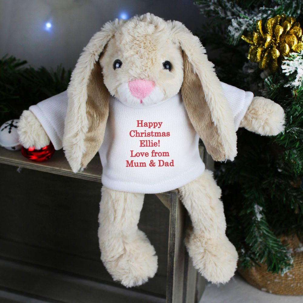 Personalised Christmas Bunny