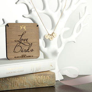 Love Birds Necklace & Keepsake