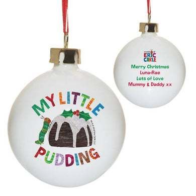 Very Hungry Caterpillar My Little Pudding Bone China Bauble