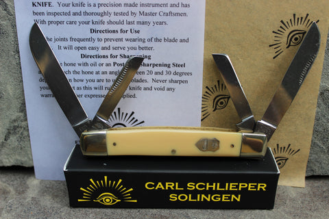 Congressman large 4 blade Yellow 60Y