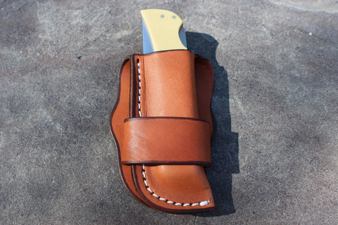 Large Old Western vertical Sheath (27130-OS)