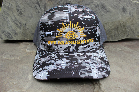Digital Camo hat with Eye Brand logo