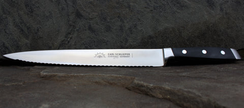 "Eye Brand Carl Schlieper Serated Carving Knife 10"" KMSM-SS"