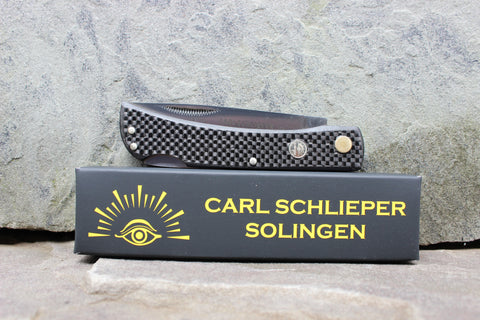 **Discounted** Eye Brand 99 Lockback  Black Carbon Fiber 99CFLblack