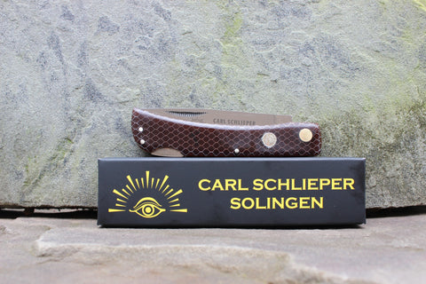 Eye Brand Carl Schlieper 99 Lockback CTEK Brown 99Lctk-br