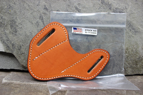 Small Pancake style Smooth Angled Sheath (17125-NDS)