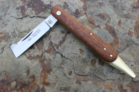 Eye Brand Grafting & Budding Knife w/ wood handles