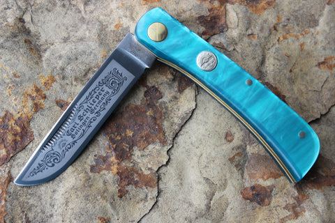 "Special Edition Clodbuster Jr Kirinite ""Teal"" w/ shield"