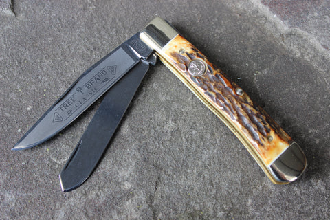 Böker Tree Brand Limited Stag Trapper (BK2525HH)