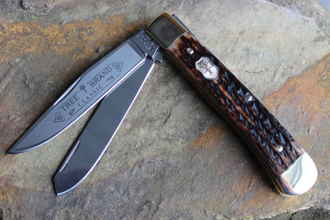 "Böker Tree Brand ""Appaloosa"" Bone Trapper (BK2525AB)"