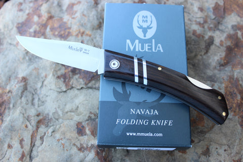Muela Lockback folder African Black Wood MUZX8GR