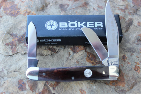 "Böker Tree Brand Smooth ""Buckskin"" Bone Stockman (BK7474BK)"