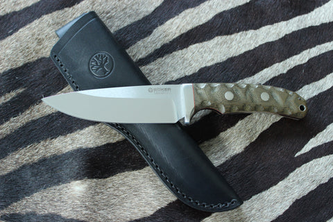 Böker Manufaktur Fixed Blade Solingen Savannah Hunting Knife (120620)