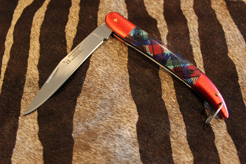 Okapi Tartan Red Folding Fisherman 1978/11