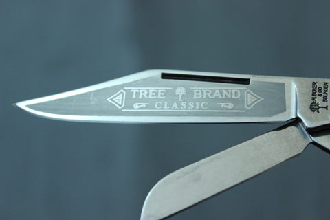 Böker Tree Brand Pick Gray Bone Stockman (BK7474JGB)