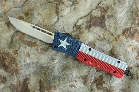 Cobratec Medium CTK-1 Cerakote Texas Flag (MTXCTK-1MDNS)