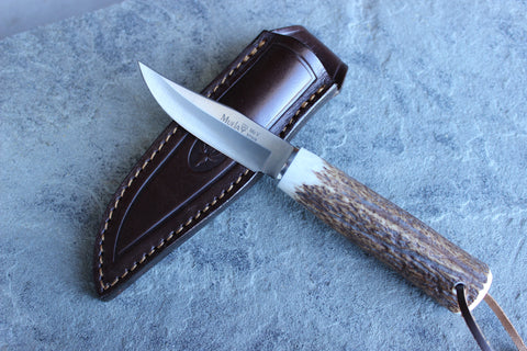 Muela Field Knife with Stag Handle(MUMN8A)