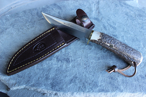 Muela Field Knife Stag Handle (MUBRACO11A)