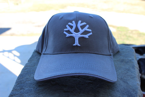 Böker Cap - Grey with White Tree (09BO004)