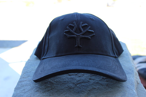Böker Cap - Black with Red Tree (09BO102)