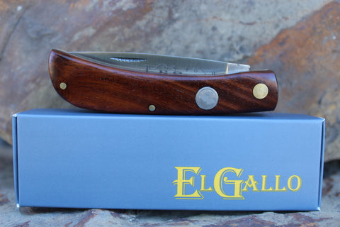 El Gallo EG99jr Wood Handle D2 Clodbuster