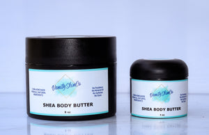 Scented Shea Butter - Baby Powder