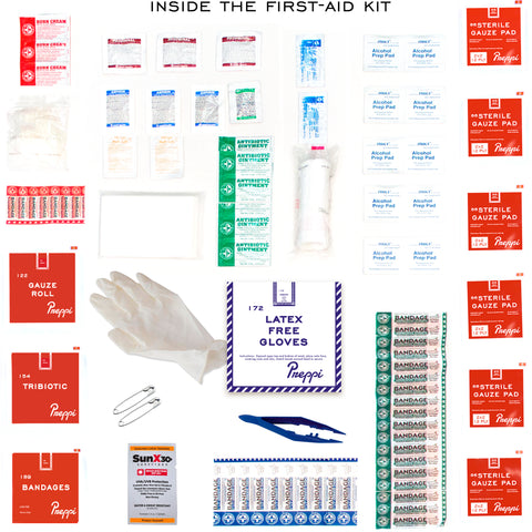 Prepster Ultra Advanced Emergency Hurricane Survival First-aid Kit Contents