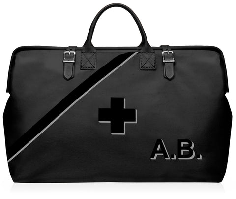 Prepster Black Luxe Emergency Preparedness and Earthquake Bag