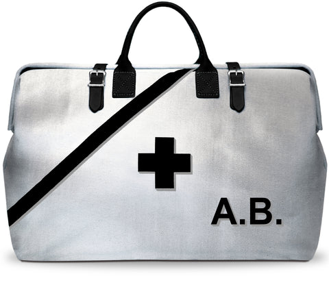 Fireproof Silver Emergency and Earthquake Kit Bag