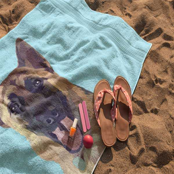 PetGraphix - Beach Towel
