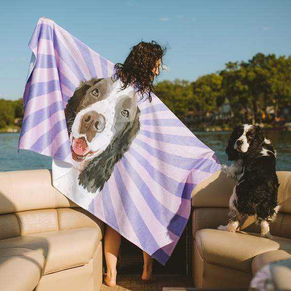 PetGraphix Custom Print Beach Towel