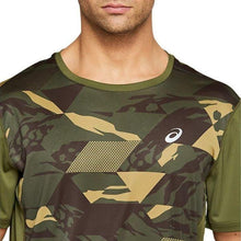 Load image into Gallery viewer, Asics Future Camo SS Men's Top