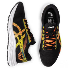 Load image into Gallery viewer, ASICS GEL-EXCITE 6 RUNNING SHOES FOR MEN BLACK SHOCKING ORANGE