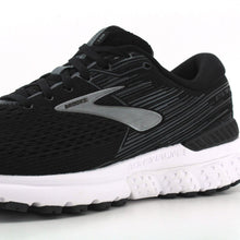Load image into Gallery viewer, BROOKS ADRENALINE GTS 19 RUNNING SHOES FOR MEN Black Ebony Silver
