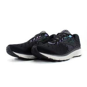 BROOKS GLYCERIN 17 RUNNING SHOES FOR MEN Black Irridescent